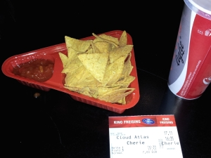 Movie theater chips